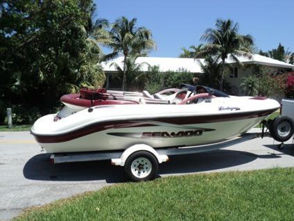 $3,600, 1999 Sea Doo Challenger 1800 Jet Boat