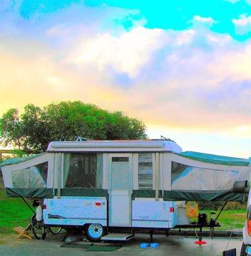 2000 Coleman Sea Pine Tent Trailer For Sale In Long Beach