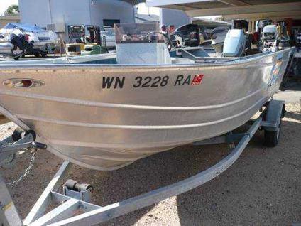 Klamath westcoaster deep v aluminum fishing boat single for Deep sea fishing boat for sale