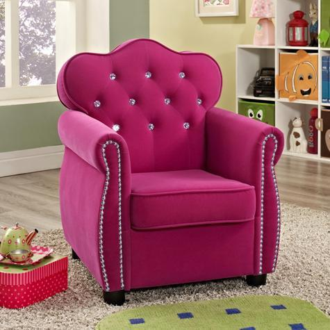 3 Adorable Hot Pink Princess Chair <3 for Sale in Houston, Texas ...