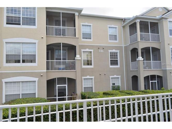 3 Bed 2 Bath Condo 586 BRANTLEY TERRACE WAY #106