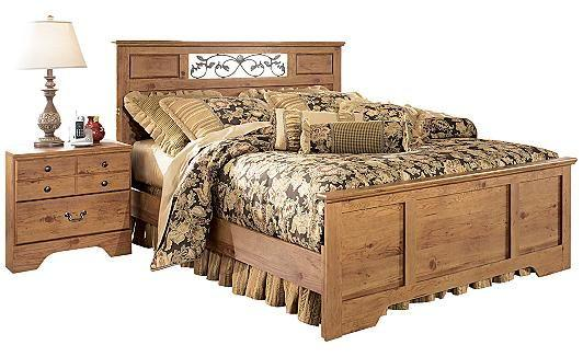 3 Bed Frame Options In Country Style Bedroom Collection