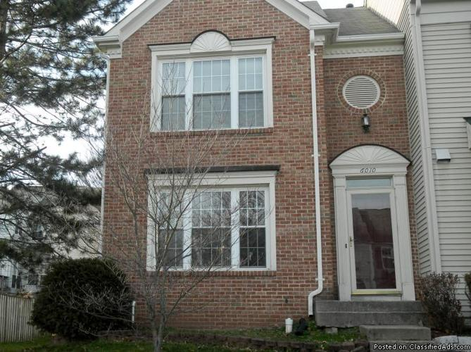 1 bedroom townhouse 3 bedroom 1 den townhouse in centreville va for rent for 10005