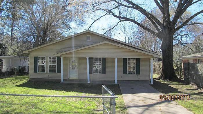 3 Bedroom 2.00 Bath Single Family Home, Monroe LA,