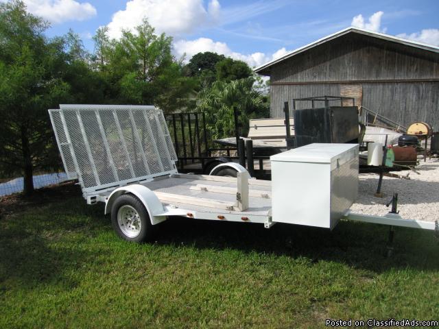 3 bike motorcycle trailer for sale in hendersonville north carolina classified. Black Bedroom Furniture Sets. Home Design Ideas