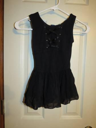 3 Black Leotards Youth 7/8 - $10