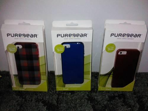 3 BRAND NEW IPHONE 5 PUREGEAR Covers/Cases!