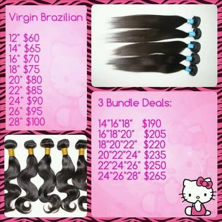 Virgin Brazilian Hair Bundle Deals Uk 68