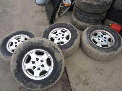 $3 Chevy Truck 6 LUG Rims  Tires Bridgewater