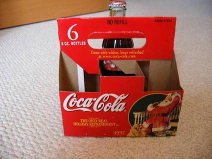 $3 Coca-Cola Bottle Carrier Christmas Special Edition