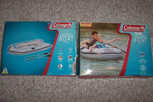 3 Coleman Inflatable Boats - $35