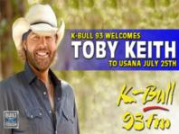 3 Front Row Toby Keith Tickets In Section 306 @ Usana