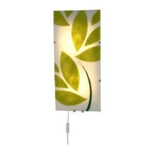 3 GYLLEN IKEA Wall Lamps   Leaf Motif