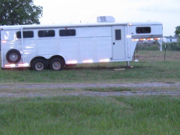 3 Horse Slant W Living Quarters Autaugaville For Sale
