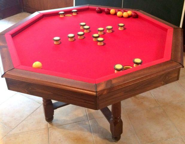 3 In 1 Bumper Pool/ Poker /Dining Table