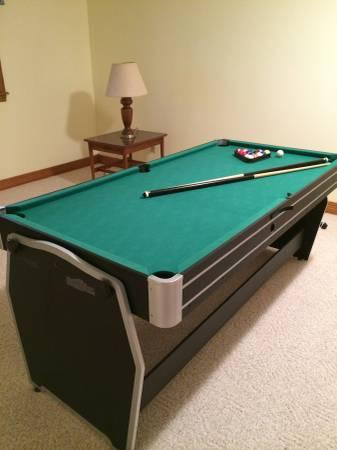 3 in 1 Multi-Game Table, Pool Table, Table Tennis, Air Hockey - $200