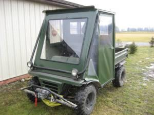 3 kawasaki mule enclosed cabs - $1100 (Johnstown)