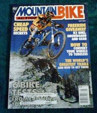 $3 Mountain Bike Action, May 2001, Giant XTC air,