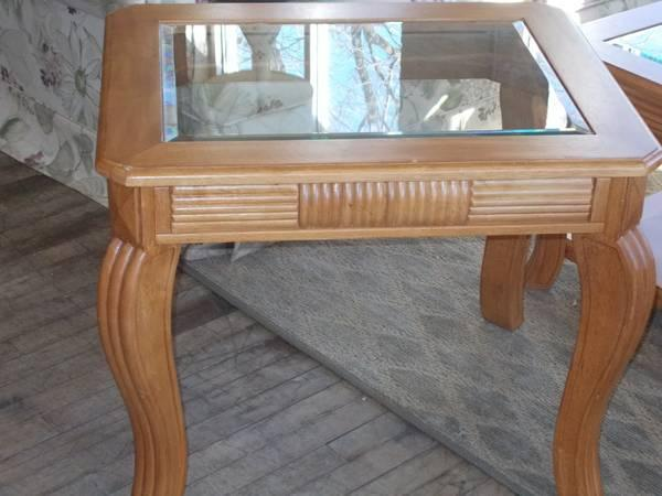 3 Piece Coffee Table & End Table Set for Sale in