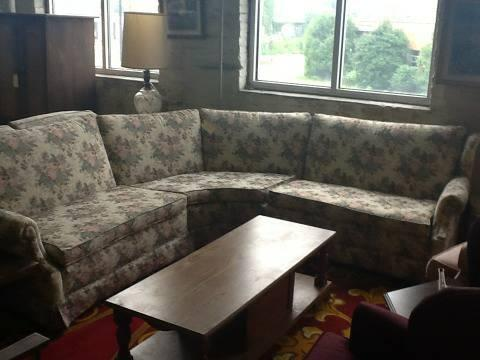 3 Piece Floral Sectional Sofa For Sale In Greenwich Pennsylvania Classified