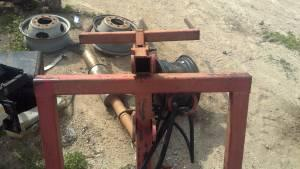 3 point hydraulic hayspear - $500 (lampasas)