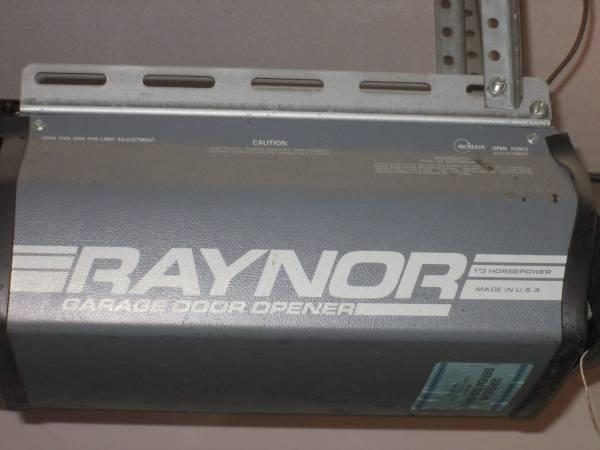Raynor garage door openers for sale in peosta iowa