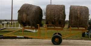 3-ROUND BALE HAY HAULER (DUBLIN, TEXAS) for Sale in ...