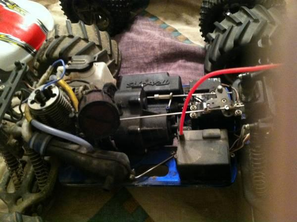 3 t-maxx 4x4 rc trucks - $250