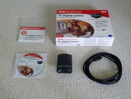 3 Webcam Bundle!! Logitech - Kodak - 3Com