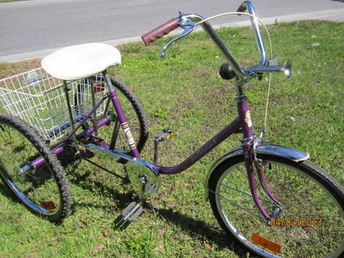 "Buy Here Pay Here Miami >> 3 Wheel Bicycle (24"" Miami Sun) for Sale in Saint Petersburg, Florida Classified ..."
