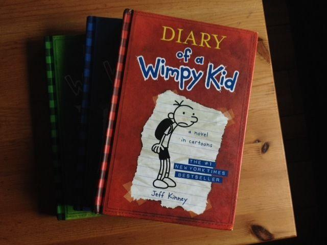 3 x DIARY of a Wimpy Kid Hardcover Books - $6