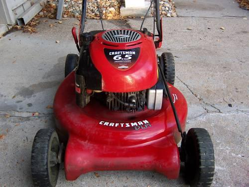 3 Yr Old Sears Craftsman Lawn Mower Personal Pace Self