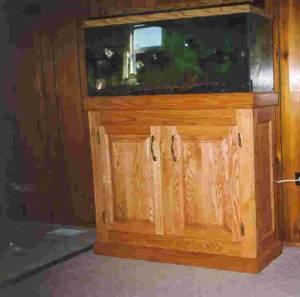 30 Gallon Aquarium With Oak Stand Hibbing For Sale In Duluth Minnesota Classified