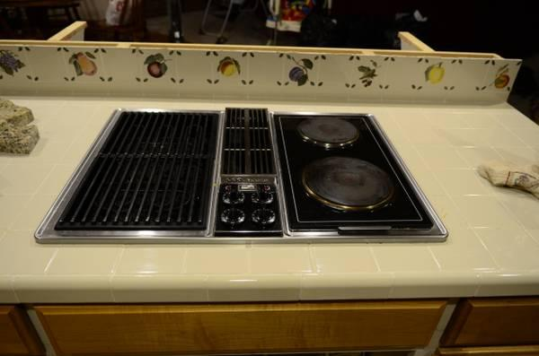 30 Jenn Air Down Draft Cooktop With Gille Unit For Sale In Brownwood Texas Classified Americanlisted Com