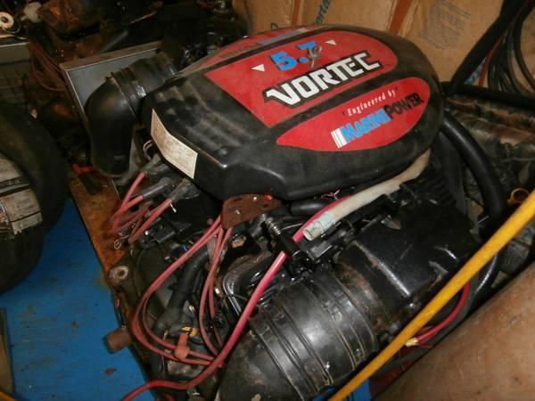300 hp 350 vortec mercruiser replacment motor - $1200