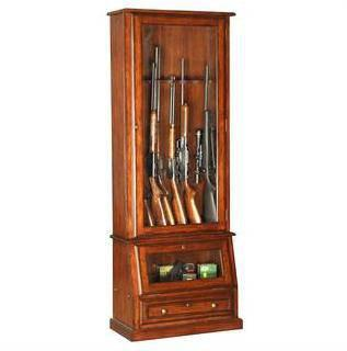 locking kitchen cabinets oak 12 gun cabinet with slanted base etched glass door 3836