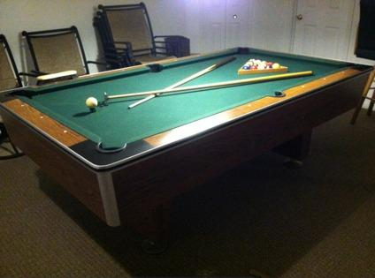 Obo 7 5 Wolverine Pool Table For Sale In Canton Michigan
