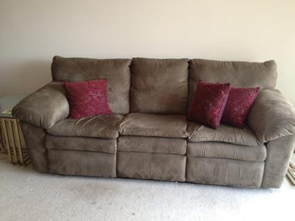 Obo Microfiber Reclining Couch Super Comfortable For