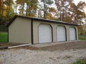 30x30x10 garage pole barn cookeville for sale in for Pole barns tennessee
