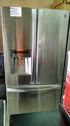 31 Cubic Ft Kenmore Elite Grab N Go Stainless Refrigerator New