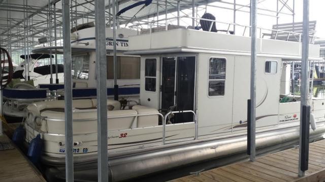 32 2007 Sun Tracker Regency Party Cruiser For Sale In