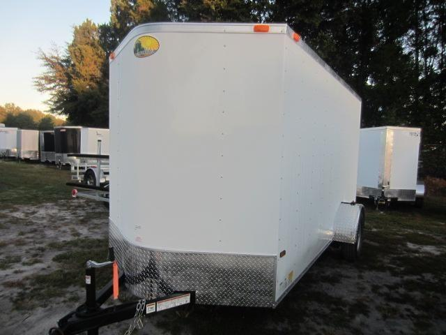 32 Side Door And Rear Barn Doors 6x12 Enclosed Trailer