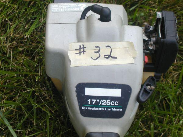 # 32 Trimmer Gas - $50 (South Hills /McMurray)