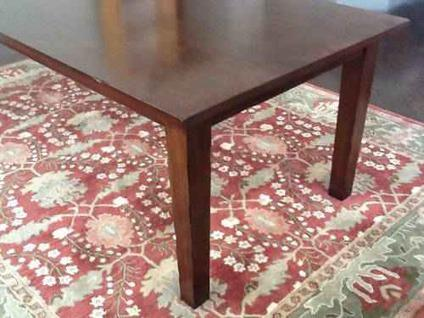 High Quality $320 Dining Table (Pier 1 Mahogany Torrance)