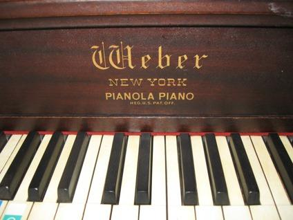 $325 Antique Upright Weber Piano