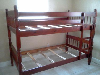Twin Over Twin All Wood Bunk Bed Sets With Mattress All New For