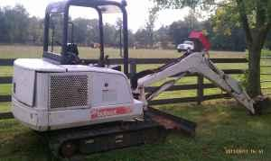 331X BOBCAT EXCAVATOR - $10500 (WAVERLY)