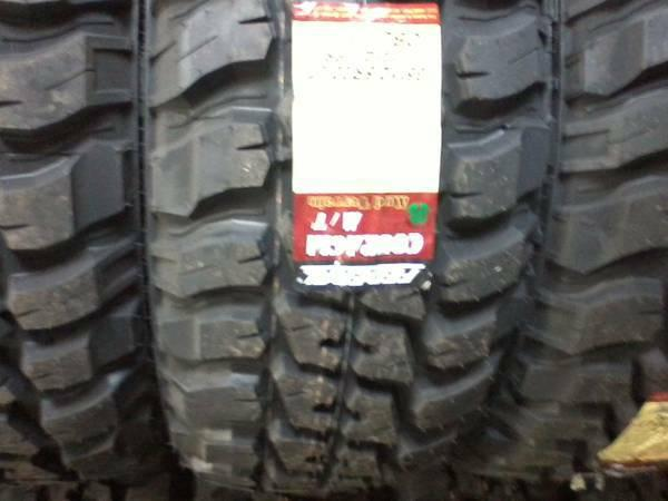 33x12 50x20 Set Of 4 New Mud Terrain Tires Federal For Sale In Fry