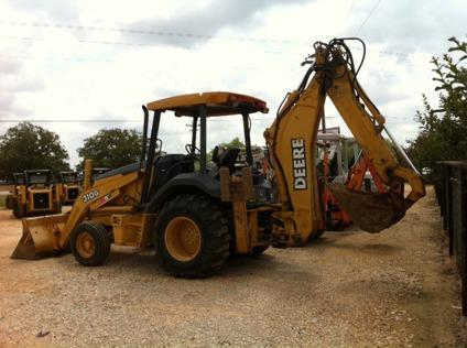 $34,500 Back Hoes Available For Sale and Rent