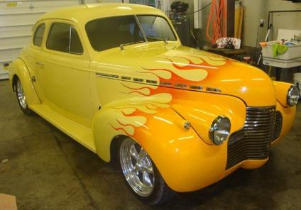 obo 1940 chevy coupe hot rod for sale in zanesville ohio classified. Black Bedroom Furniture Sets. Home Design Ideas